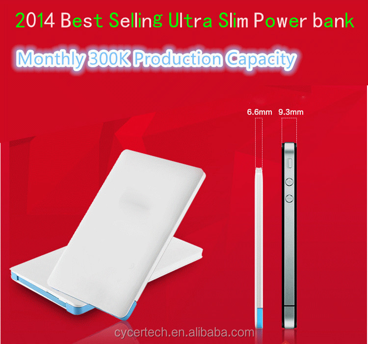 2014 best selling ultra slim 2500mah portable charger battery for samsung galaxy