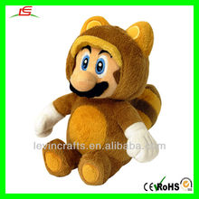 LE-D377 Super Mario Bros Plush Toy - Tanooki