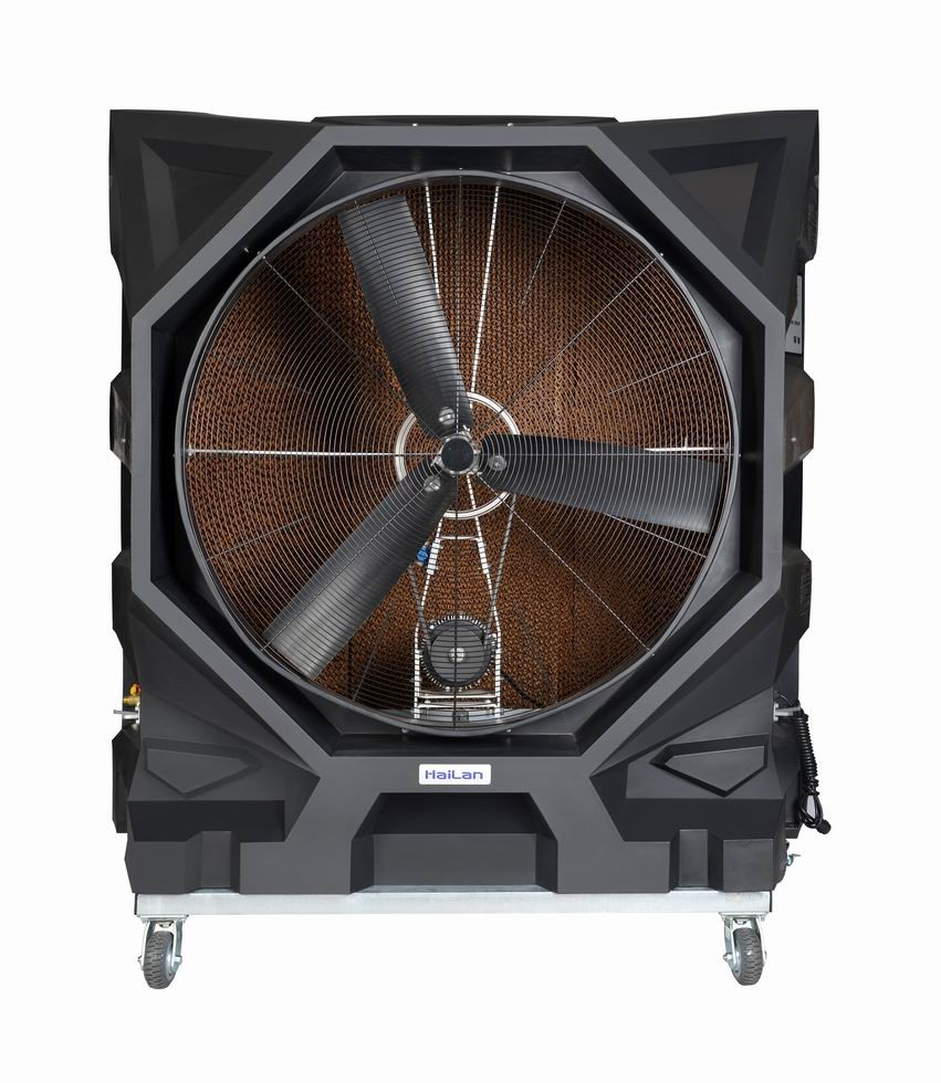 Portable Cooling Fans : Industrial and commercial portable evaporative air cooler