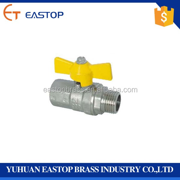 Hand Operated Union Brass Ball Valve For Water Meter In Best Price