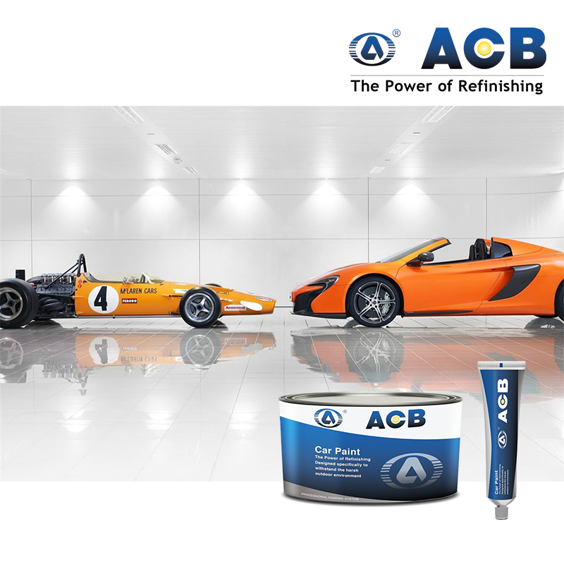 ACB high solids auto refinish paint 2k clearcoat