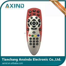 High quality red tata sky remote control with learning function for India market