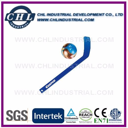 Mini customized plastic hockey stick
