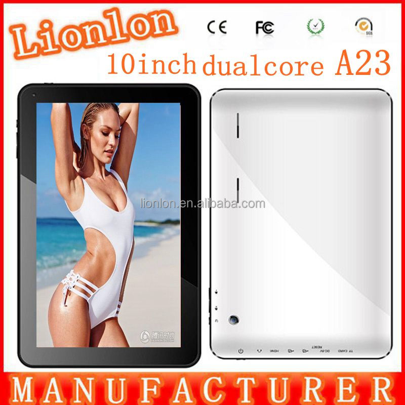 Super slim google android 4.2 10 inch tablet PC with touch screen,dual camera wifi