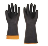 heavy industrial gloves, smooth palm