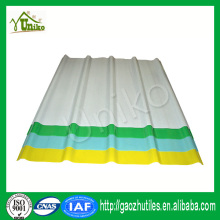 23um anti-aging film 10 year guarantee large corrugated plastic roofing sheets FRP corrugated roofing sheet