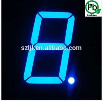 16 inch Large Super Bright Blue single digit display, HS hot sale