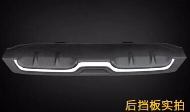 rear bumper plate for honda civic 2016 skid plate