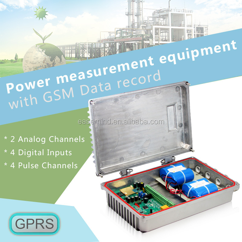 sms/gsm/gprs Power measurement equipment with GSM Data record and logger