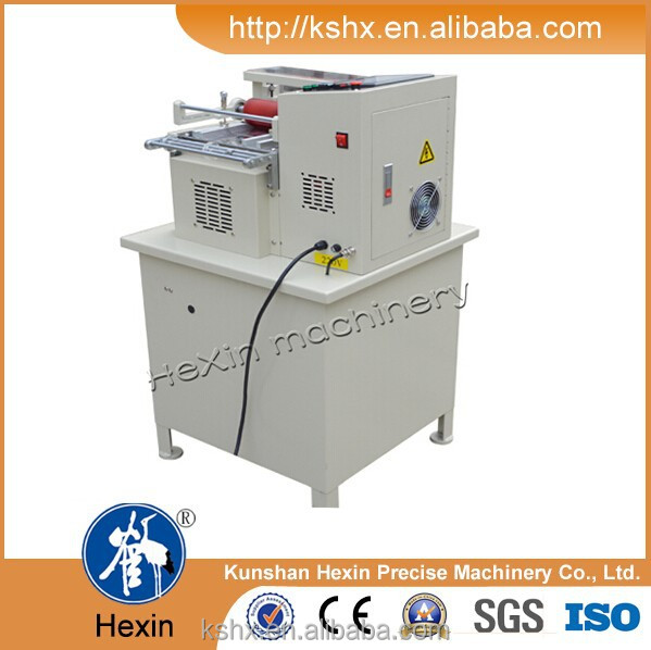 machinery for cutting hook and loop fastener rolls
