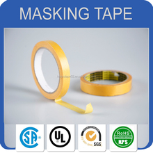 uv resistant crepe paper single side adhesive high temperature colored paper masking tape/transparent masking tape