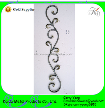 More Strong Wrought Iron Stair Handrail Parts/Balusters than Aluminum