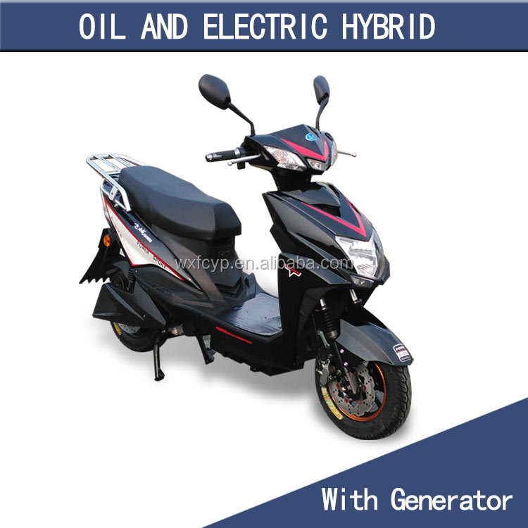 cheap 50cc gas electric motorized scooter with lithium battery