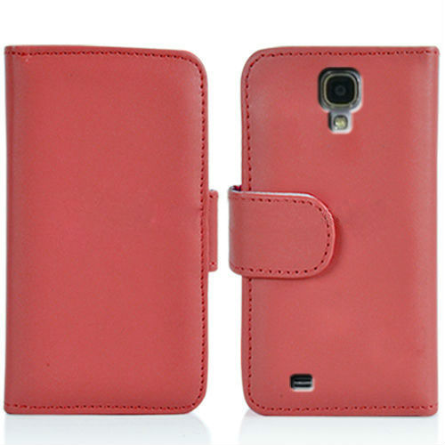 Credit Card slot wallet leather case for samsung galaxy s4, for samsun s4 leather case