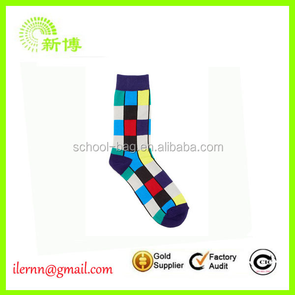 hot sale cloth christmas socks/christmas stocking