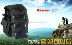waterproof 10.5w solar chargers for mobile the lowest price solar panel
