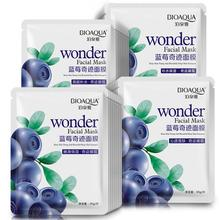 bioaqua blueberry facial mask sheet whitening skin lifting face masks face care wrinkle pig nose masker beauty