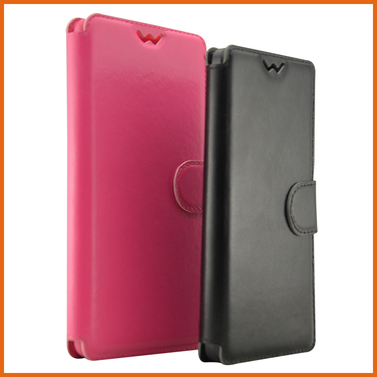 Factory PU leather flip for lenovo p70 back cover