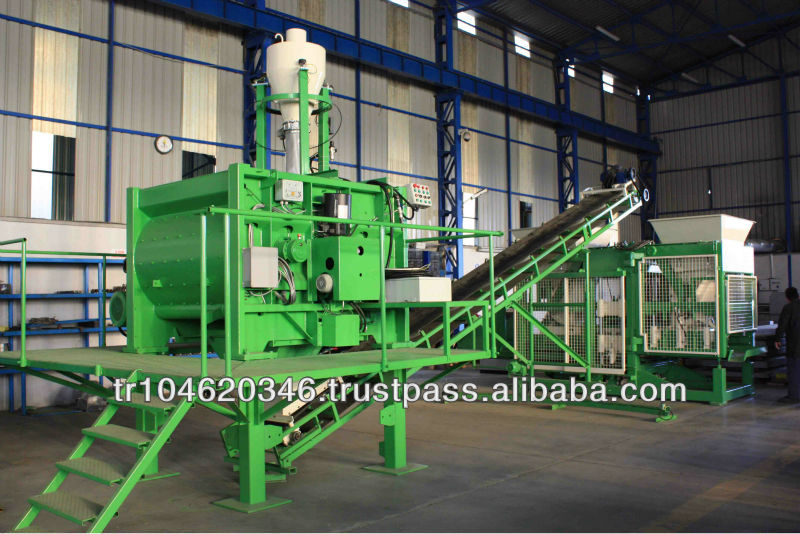 CONCRETE FULL AUTOMATIC BLOCK MAKING MACHINE