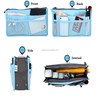 Multi Function Travel Handle Cosmetic Storage Bag