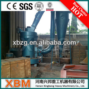 XBM Widely Used Quartz Raymond Mill For Barite/Kaolin