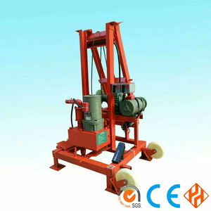 Cheap portable borehole small water well drilling machine/60-80m depth well drilling rig