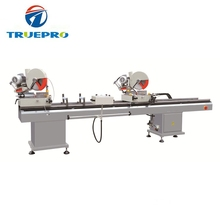 China manufacture upvc profile double mitre saw