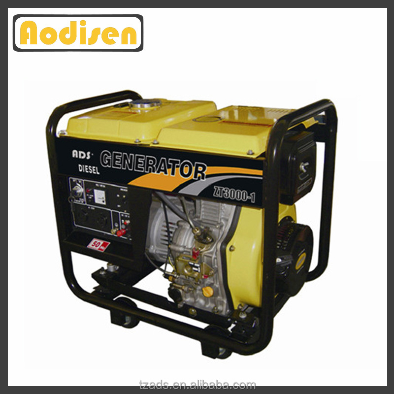 open frame type noiseless low fuel consumption generator 7.5 kva