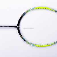 ultra elastic carbon tennis bat, high intension super flexibility ball badminton racket