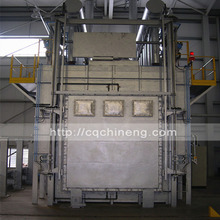 20T-90T nitrogen protection aluminium homogenizing furnace