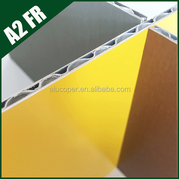 Environmental Protection exterior pvdf paint carriage aluminium composite panel