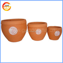 Outdoor garden clay flower pots wholesale