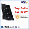 Hot sale manufacturers in China 150 watt mono solar panels 250 watt for Home Application