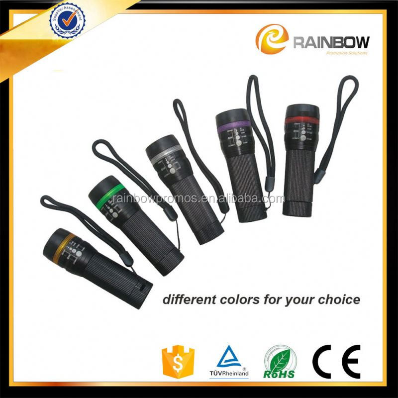 Aluminium dimmable high power long range rechargeble torch