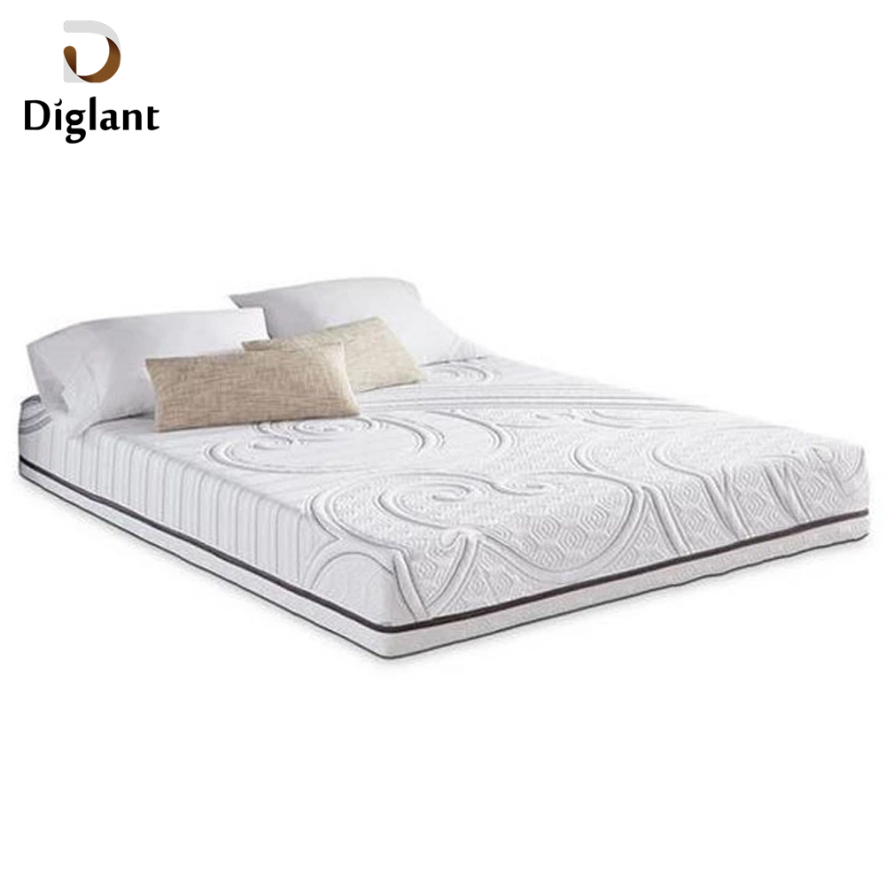 DM016 Diglant Gel Memory Latest Double Fabric Foldable King Size Bed Pocket bedroom furniture outdoor mattress - Jozy Mattress | Jozy.net