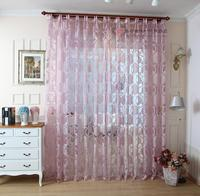 European-style luxury curtain sheer for livingroom and bed room