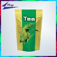 aluminum foil tea packing bag/plastic green tea bag