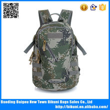 Military canvas army hiking backpack amy backpack bag hydration backpack