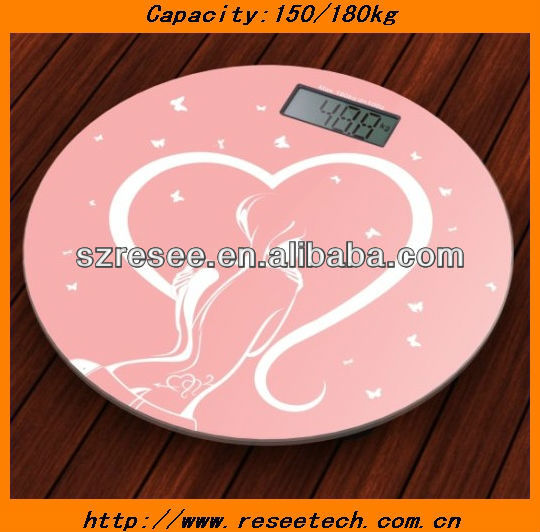 Mechanical human electronic body weighing scale