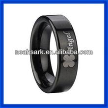 Fashion jewelry factory price ceramic rosette ring TPCR288#