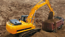 construction equipment fully hydraulic excavator 22 tons with Kawasaki hydraulic system and Cummin s engine best price