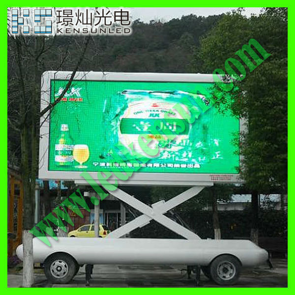 Energy saving full color HD LED video display screen currency bank exchange rate led board