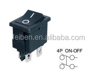 Smart Bes~Good Quality FS-13 four feet small ship type switch (Rocker switch ),power switch