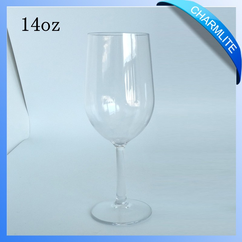 220ml shatterproof tritan plastic wine glass thick stem cl wg019 buy wine glass thick stem - Wine glasses with thick stems ...