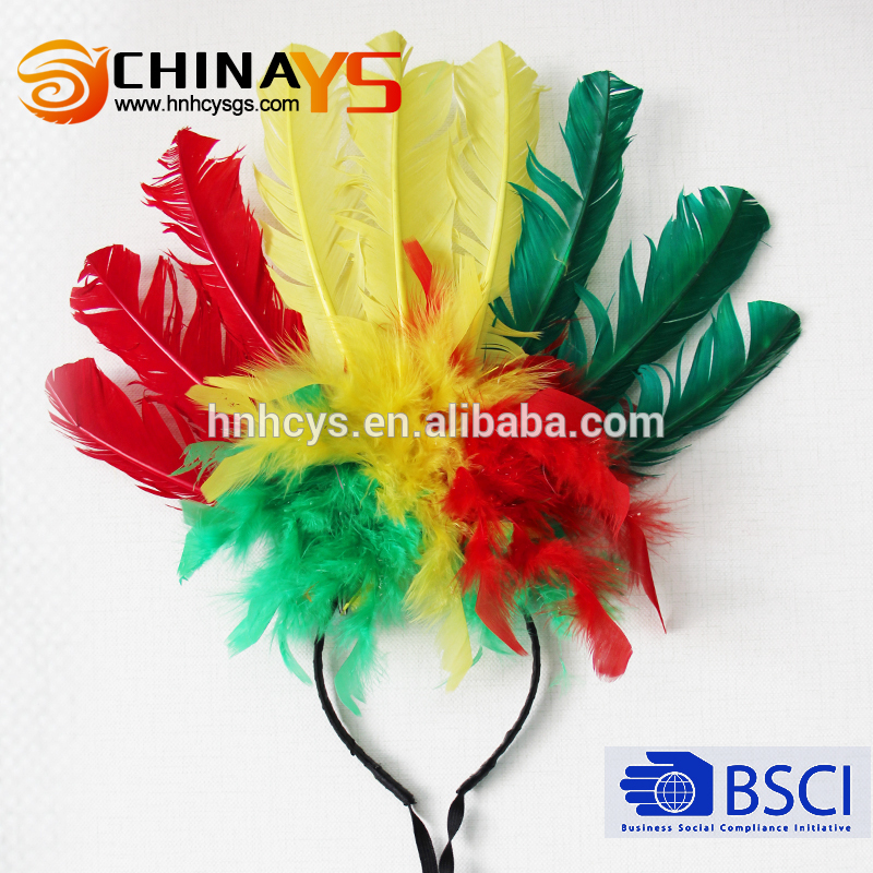 China manufacturer showgirl headdress of China National Standard