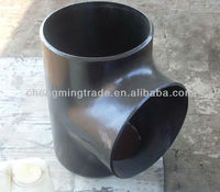 CS BW Seamless pipe fittings/tee/carbon steel tee supplier