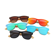 Zogift Hot Sell Polarized bamboo temple sunglasses, custom bamboo and wooden sunglasses