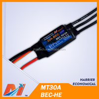 Maytech RC model plane brushless speed controller 30A ESC for remote control jet plane/Helicopter cheap series