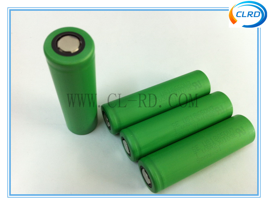 High drain battery 18650 cells lithium ion rechargeable battery pack V3 18650 3.7v 2250mah 10A US18650V3 battery