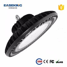 IP65 Tempered glass or PC cover UFO 100w led high bay light